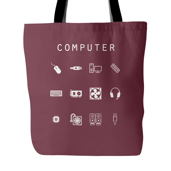 Computer Tote Bag - Beacon