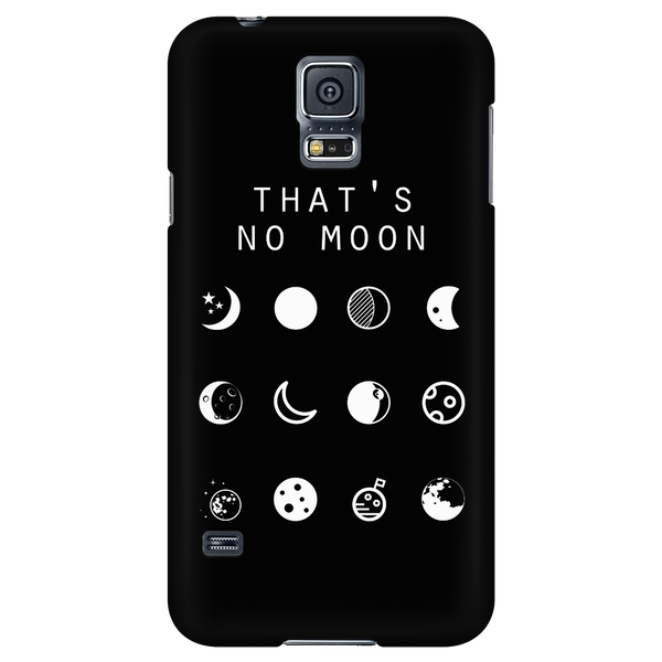 That's No Moon (Star Wars) Black Phone Case - Beacon
