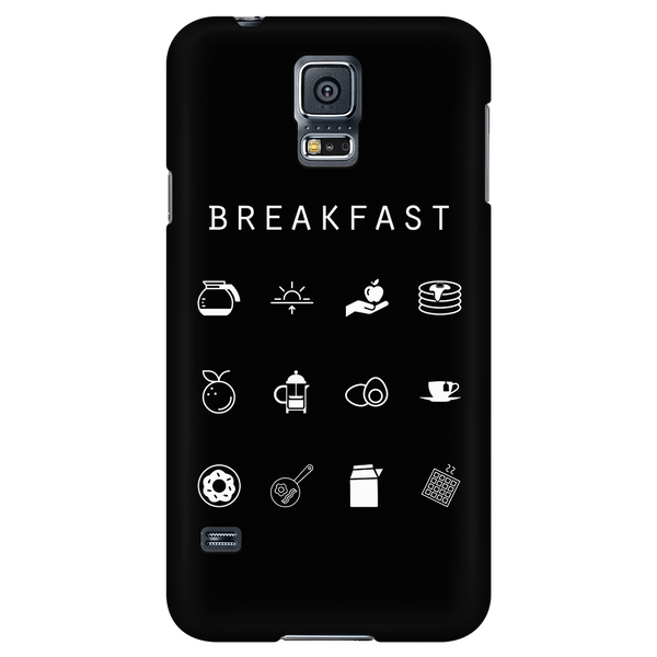 Breakfast Black Phone Case - Beacon