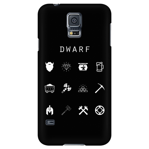 Dwarf Black Phone Case - Beacon