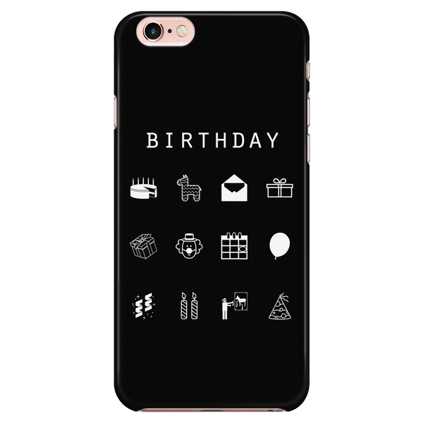 Birthday Black Phone Case - Beacon