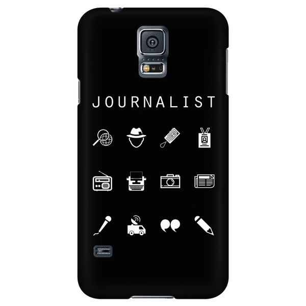 Journalist Black Phone Case - Beacon