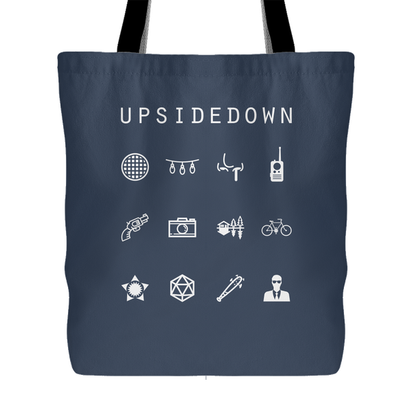 Upsidedown (Stranger Things) Tote Bag - Beacon