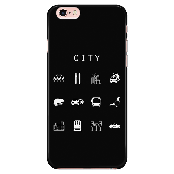 City Black Phone Case - Beacon