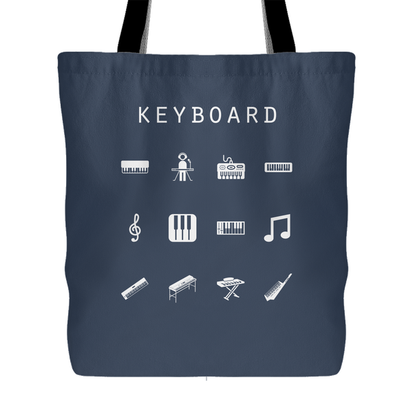Keyboard Tote Bag - Beacon