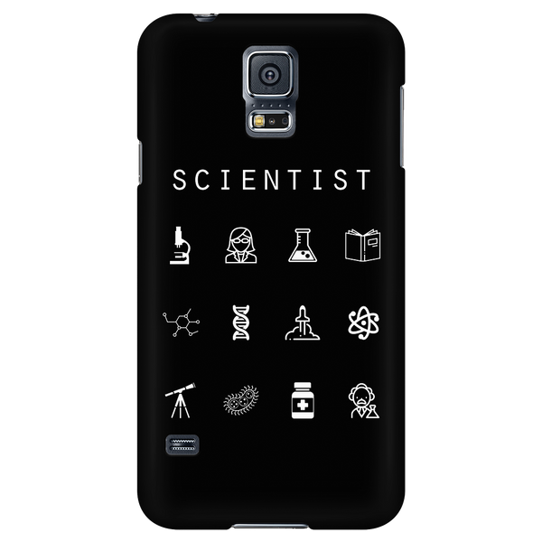 Scientist Black Phone Case - Beacon