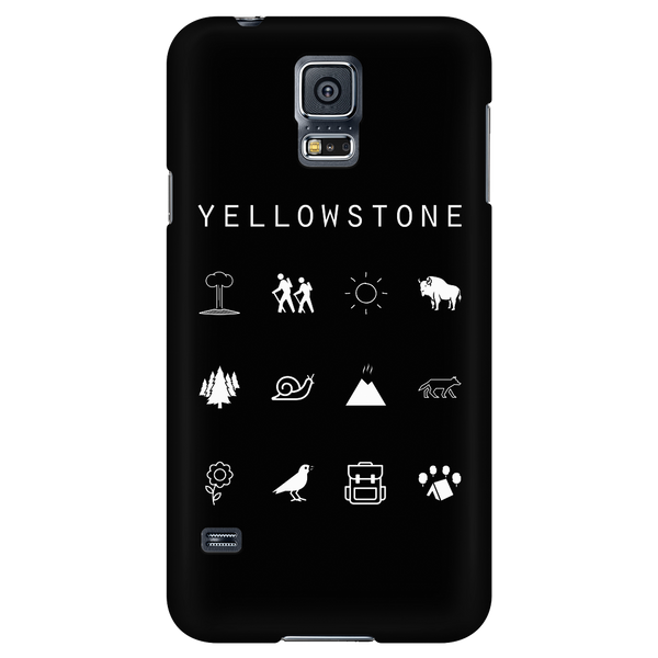 Yellowstone Black Phone Case - Beacon