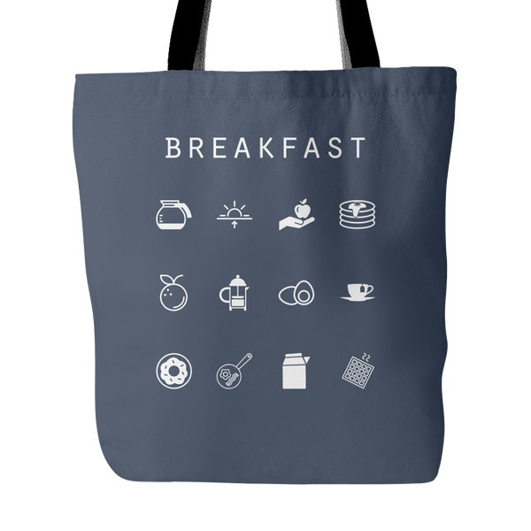 Breakfast Tote Bag - Beacon