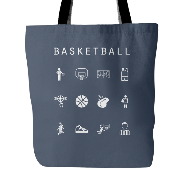 Basketball Tote Bag - Beacon