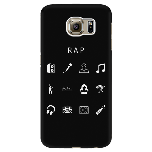 Rap Black Phone Case - Beacon
