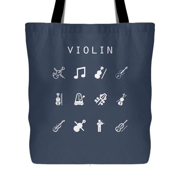 Violin Tote Bag - Beacon