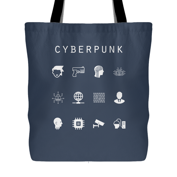 Cyberpunk Tote Bag - Beacon