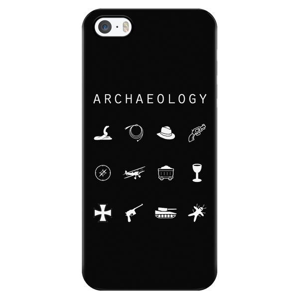 Archaeology Black Phone Case - Beacon