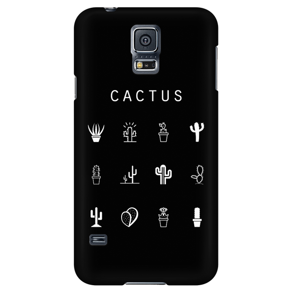 Cactus Black Phone Case - Beacon