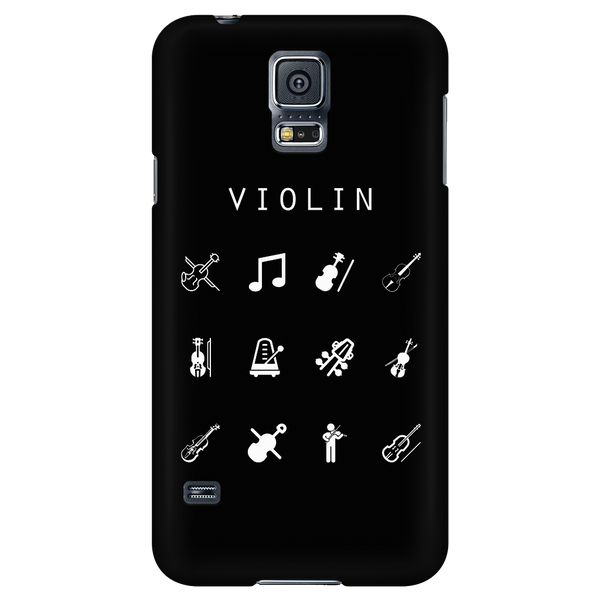 Violin Black Phone Case - Beacon