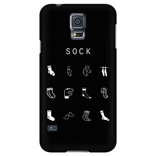 Sock Black Phone Case - Beacon