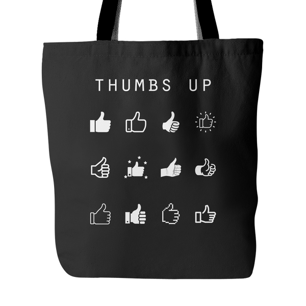 Thumbs Up Tote Bag - Beacon