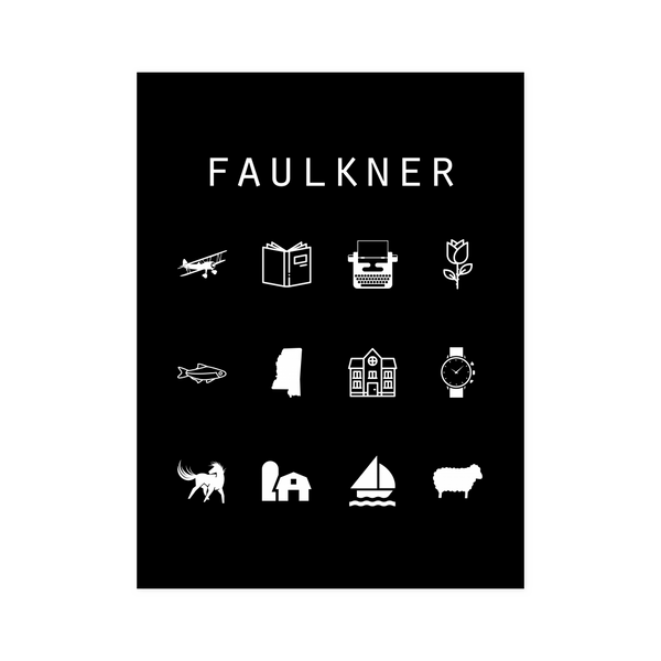 Faulkner Black Poster - Beacon