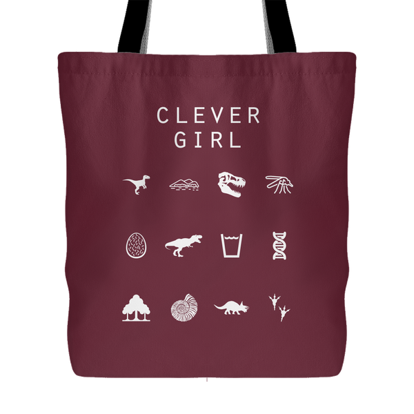 Clever Girl (Jurassic Park) Tote Bag - Beacon