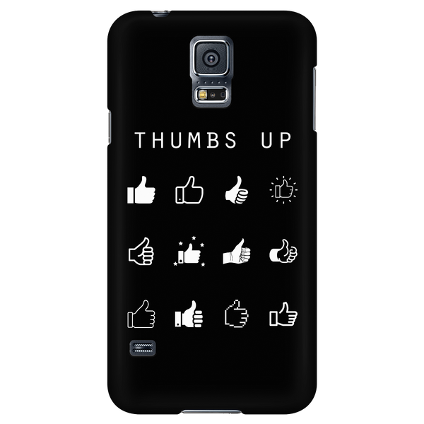 Thumbs Up Black Phone Case - Beacon