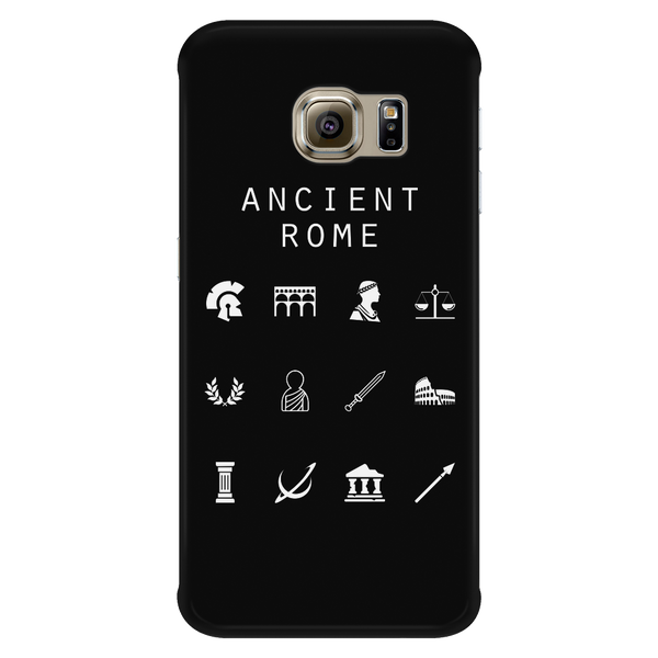 Ancient Rome Black Phone Case - Beacon