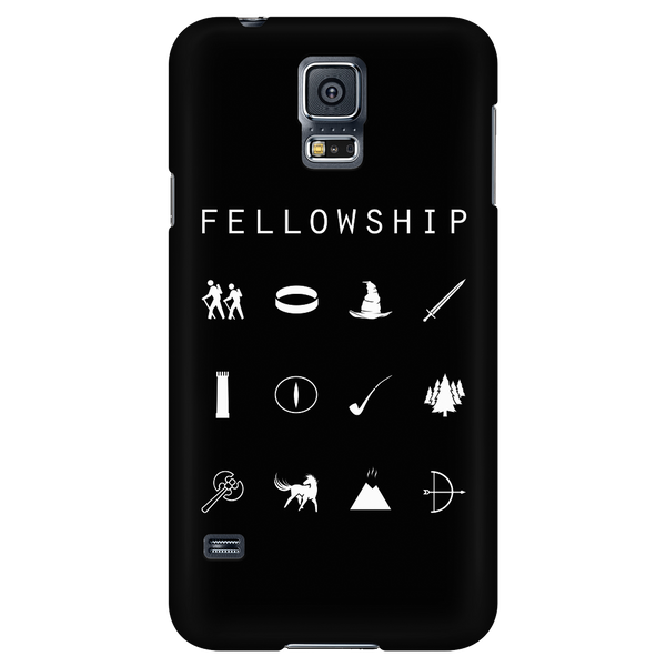 Fellowship (Lord of the Rings) Black Phone Case - Beacon