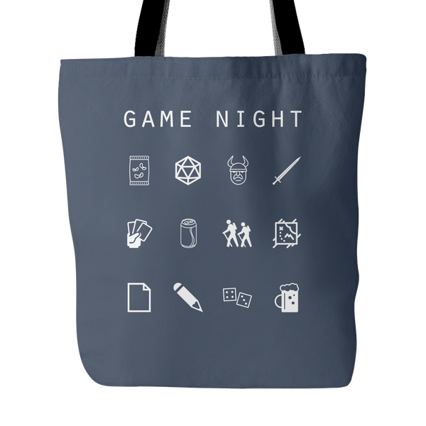 Game Night Tote Bag - Beacon