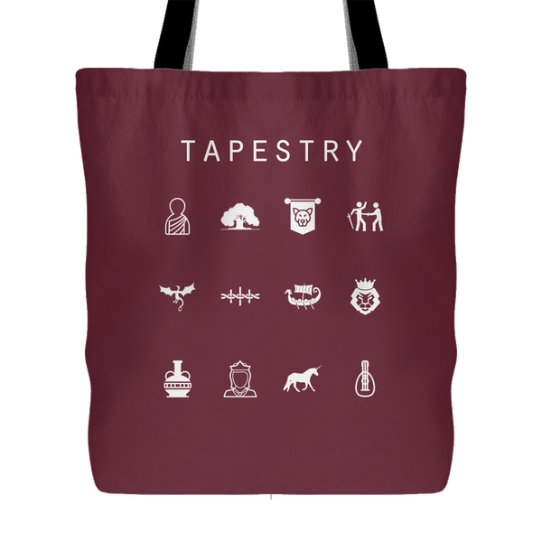 Tapestry Tote Bag - Beacon