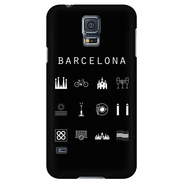 Barcelona Black Phone Case - Beacon