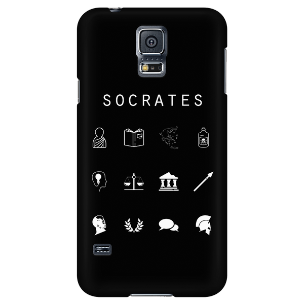 Socrates Black Phone Case - Beacon