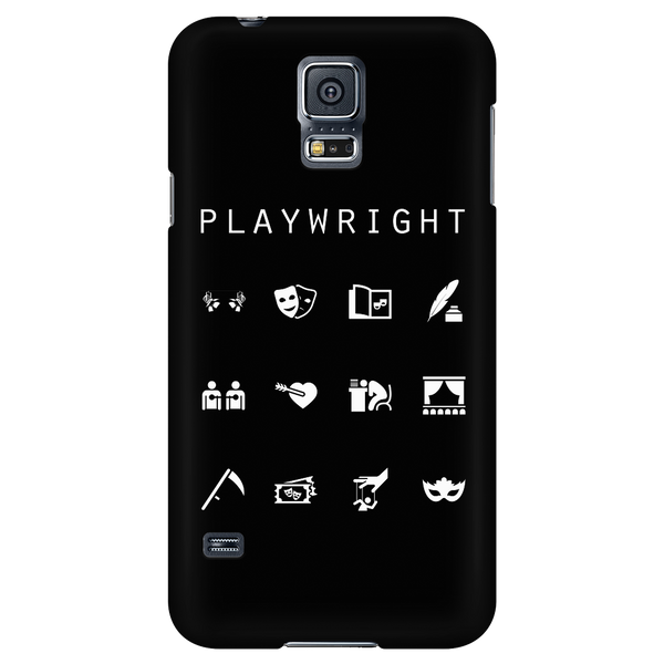 Playwright Black Phone Case - Beacon