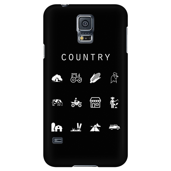 Country Black Phone Case - Beacon
