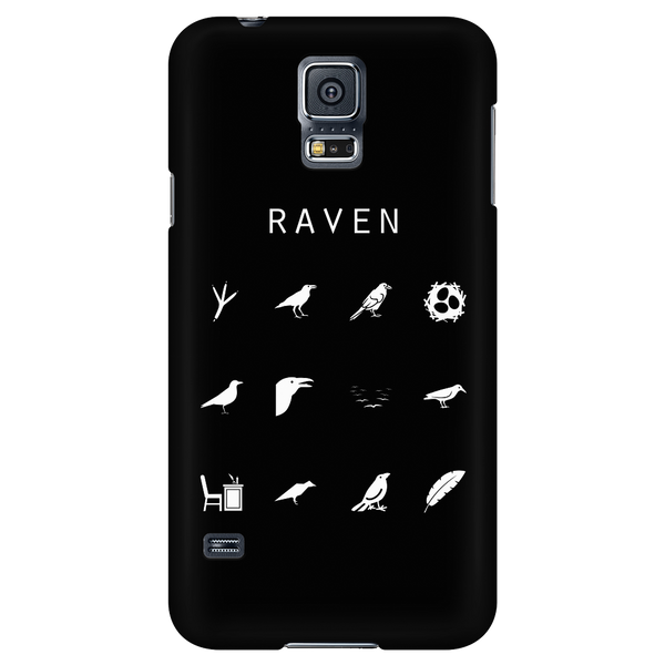 Raven Black Phone Case - Beacon