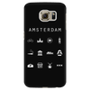 Amsterdam Black Phone Case - Beacon