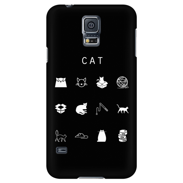 Cat Black Phone Case - Beacon