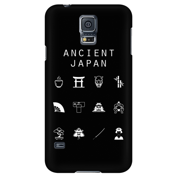 Ancient Japan Black Phone Case - Beacon
