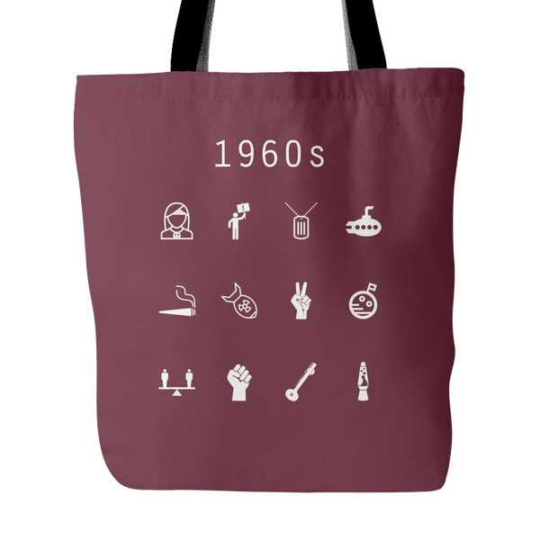 1960s Tote Bag - Beacon