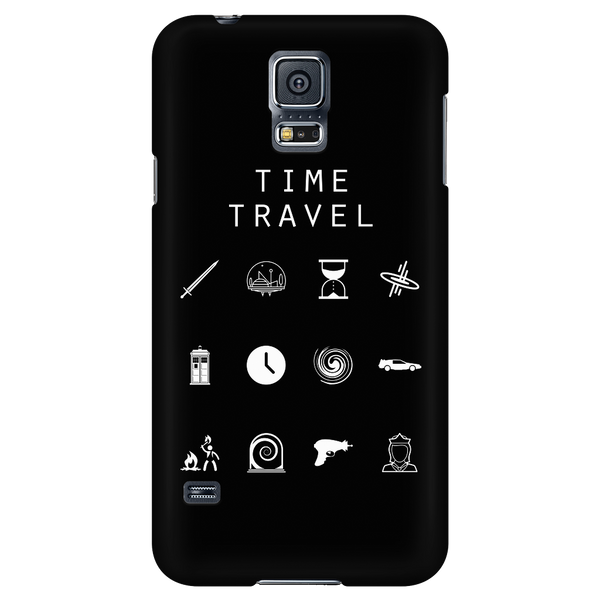 Time Travel Black Phone Case - Beacon