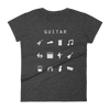 Guitar Fitted Women's T-Shirt - Beacon
