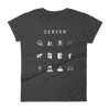 Server Fitted Women's T-Shirt - Beacon