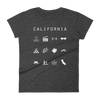 California Fitted Women's T-Shirt - Beacon