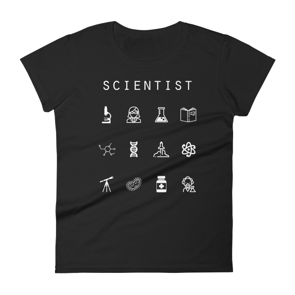 Scientist Fitted Women's T-Shirt - Beacon
