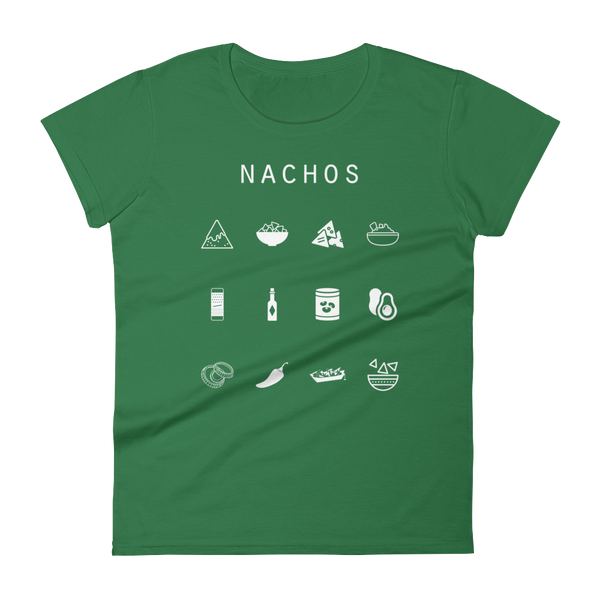 Nachos Fitted Women's T-Shirt - Beacon