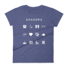 Grandma Fitted Women's T-Shirt - Beacon