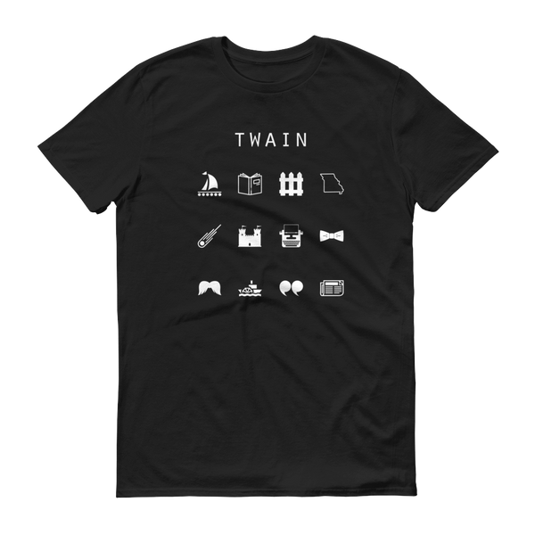 Twain Unisex T-Shirt - Beacon