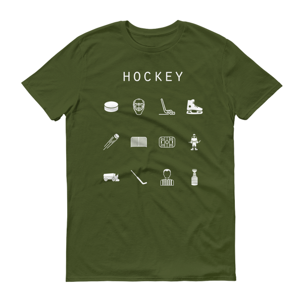Hockey Unisex T-Shirt - Beacon