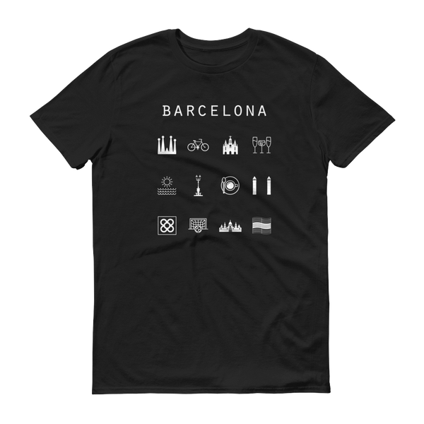 Barcelona Unisex T-Shirt - Beacon