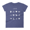 Love Fitted Women's T-Shirt - Beacon