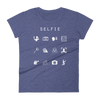 Selfie Fitted Women's T-Shirt - Beacon