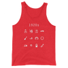 1920s Unisex Tank Top - Beacon